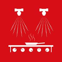 Kökssläcksystem  För restaurang och storkök är det kompakta och effektiva Kitchen Knight II det självklara valet.